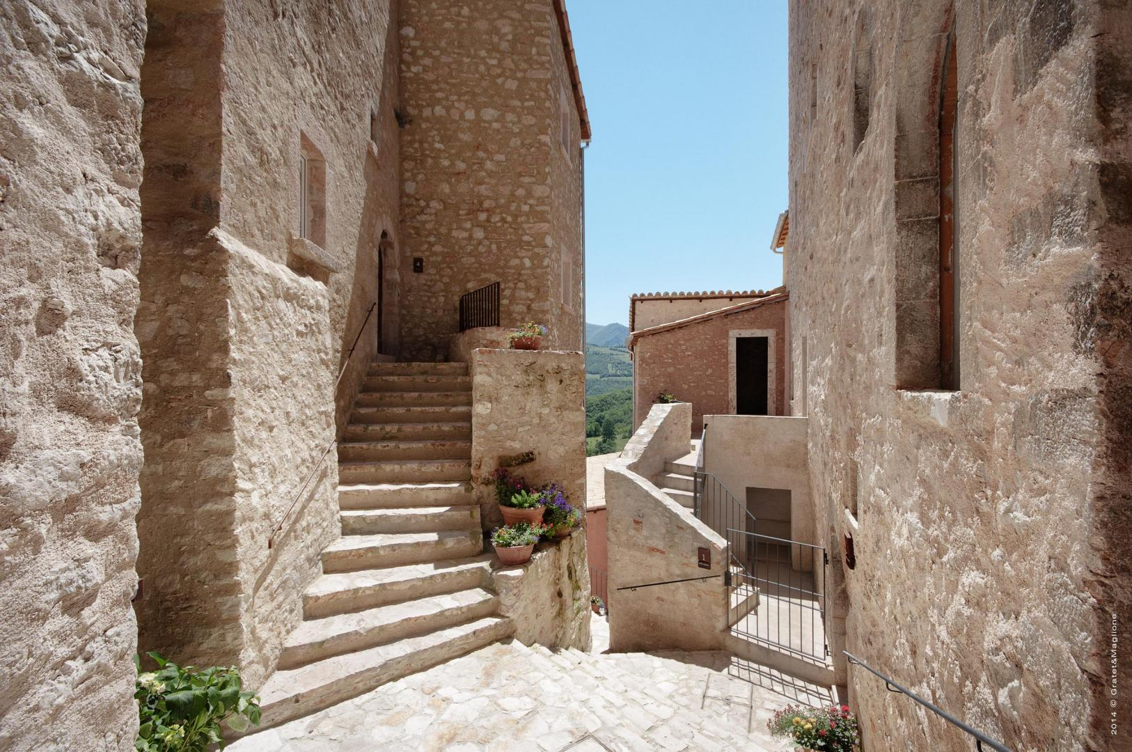 Postignano Real Estate, medieval village houses